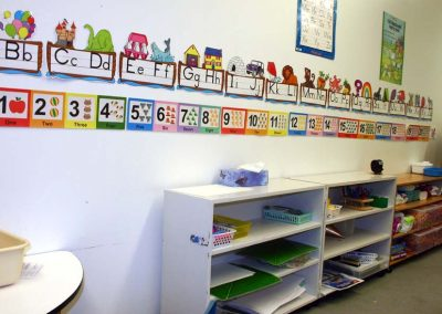 Preschool Classroom - Learning Letters & Numbers